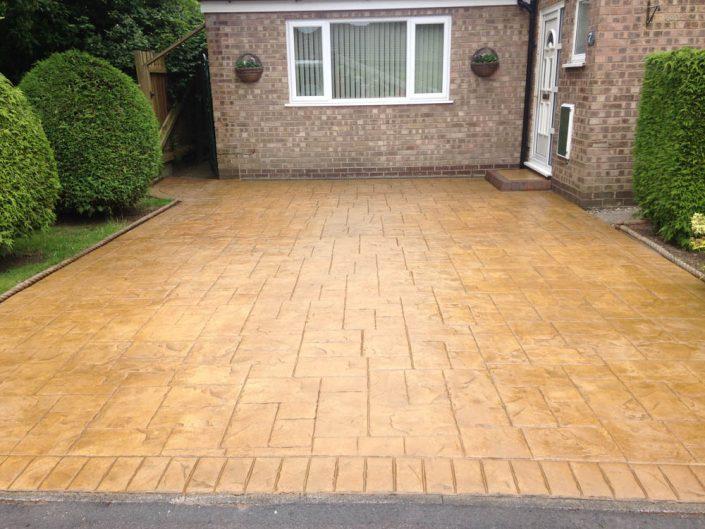 Imprinted Concrete Restoration Warrington